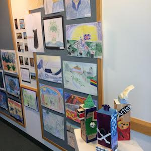 MS/LS Art Exhibit 2018