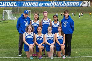Varsity Girls Cross Country Team