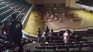 Worcester Memorial Auditorium - upper level