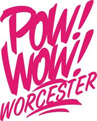 Pow!Wow!Worcester logo