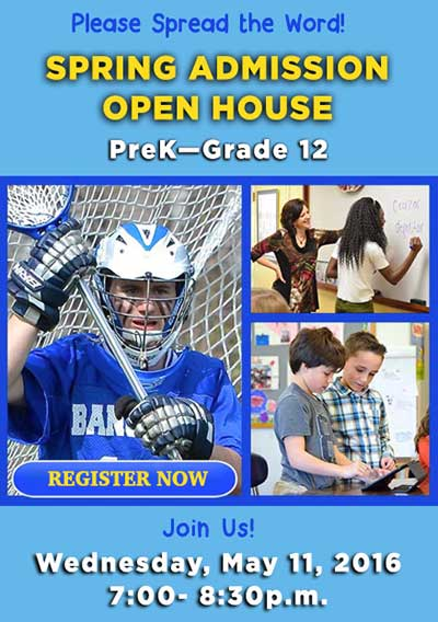 Spring Admission Open House
