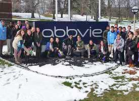Students at Abbvie