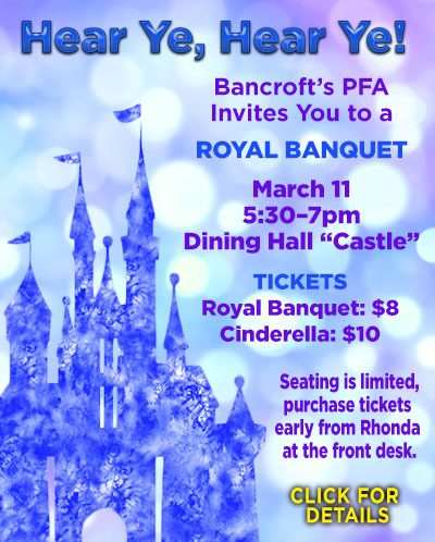 Community Dinner on March 11