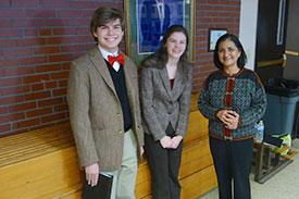 US Speech Team Members at Jacob Hiatt Magnet School