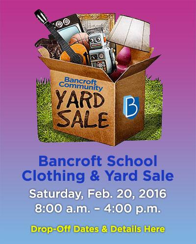 Bancroft Community Yard Sale