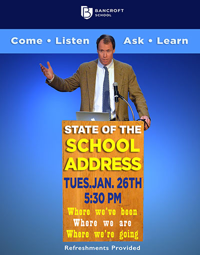 State of the School Address–Jan. 26