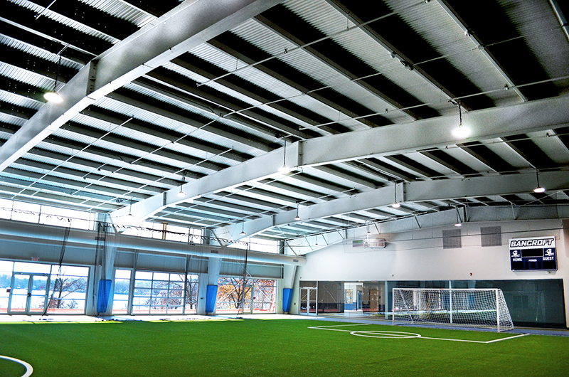 Bancroft Field House Interior