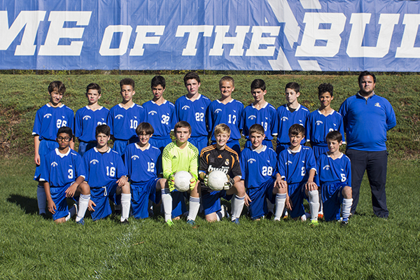 MS Boys A Soccer Team 17-18