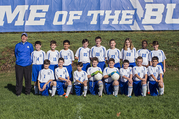 MS Boys B Soccer Team 17-18