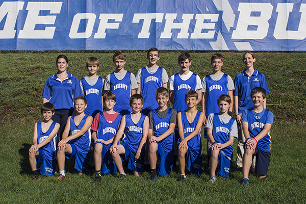 MS Cross Country Team 17-18
