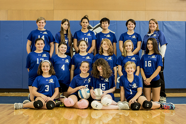 MS Volleyball Team 17-18
