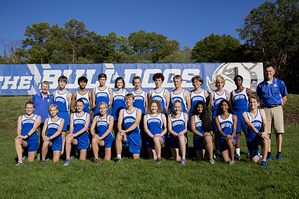 Varsity Cross Country Team 17-18