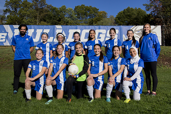 Varsity Girls Soccer Team 17-18