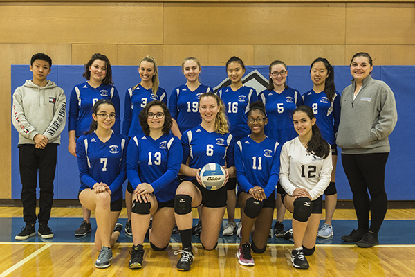 Varsity Volleyball Team 17-18