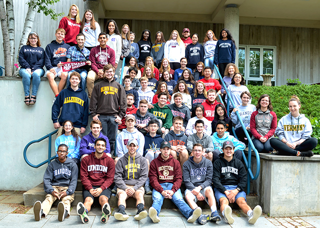 Class of 2018 College Sweatshirts