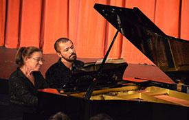 Sima Kustanovich & Pavel Nersessian–Four Hands Concert
