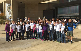 MS Students at Multiband Concert Trip