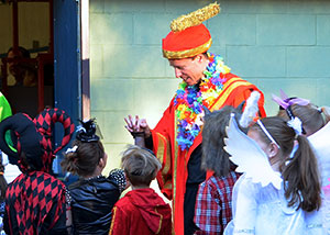 Trey Cassidy as King Kamehameha