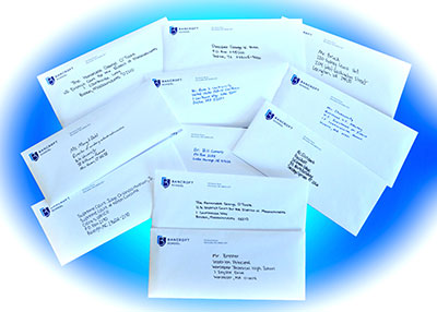 Student Letters–Click to Enlarge