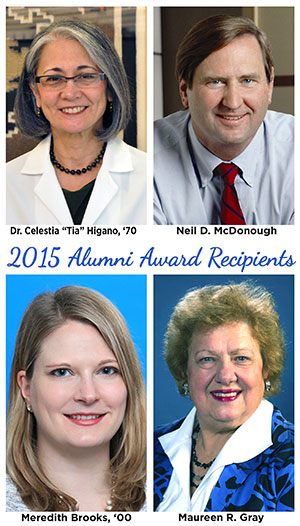 2015 Alumni Award Recipients