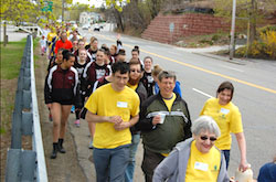 Scleroderma Walk at Bancroft