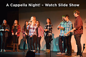 A Cappella Night! Slide Show