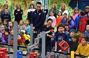 Robotics Teams at assembly