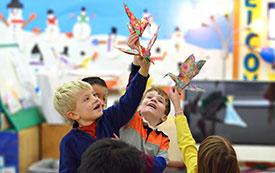 Kindergarten Paper Cranes