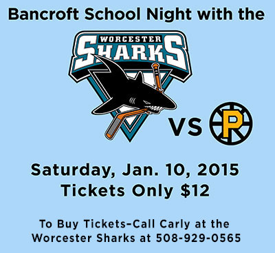 Bancroft Night with the Sharks Ad