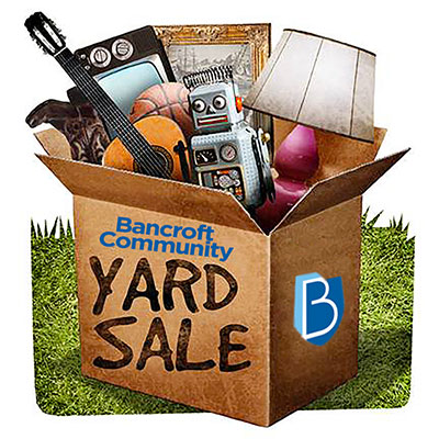 Bancroft Community Yard Sale
